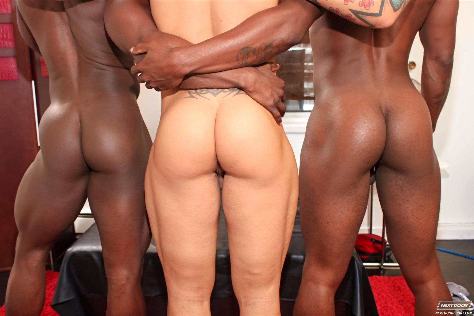 Next Door Ebony Jordano Santoro and Jay Black and Damian Brooks Interracial Gay Fucking Threeway Amateur Gay Porn 05 Interracial Muscle Couple Picks Up A Black Muscle Stud In The Park