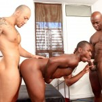 Next Door Ebony Jordano Santoro and Jay Black and Damian Brooks Interracial Gay Fucking Threeway Amateur Gay Porn 14 150x150 Interracial Muscle Couple Picks Up A Black Muscle Stud In The Park