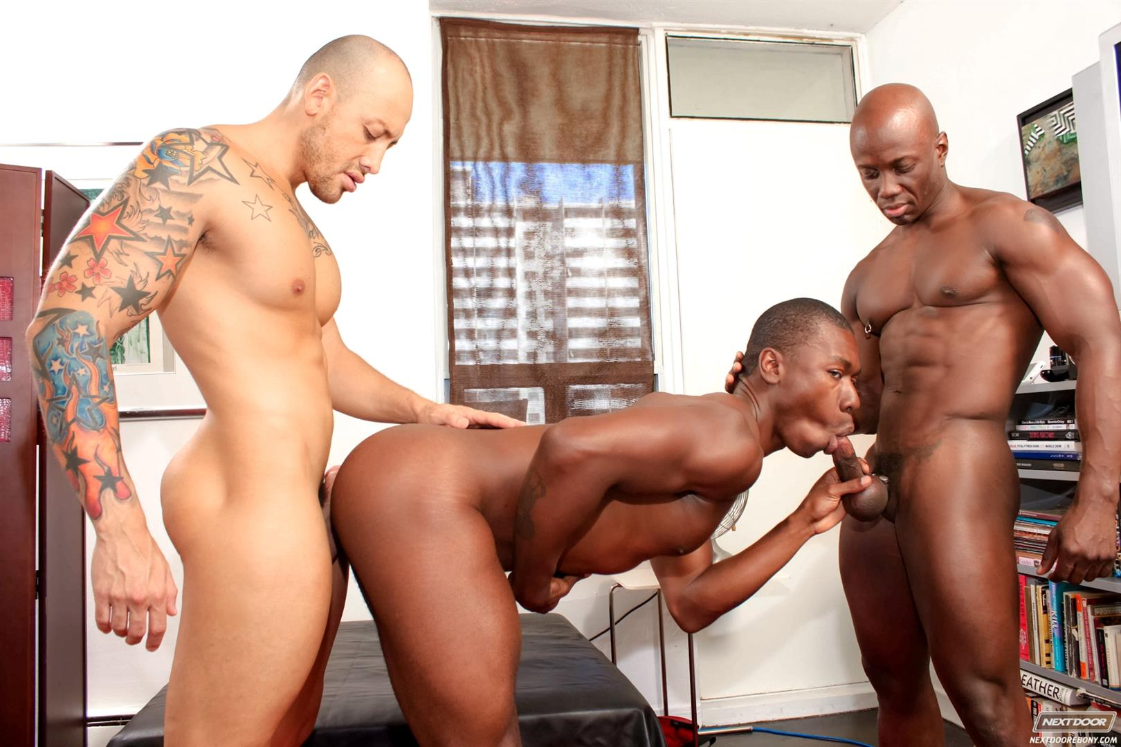 Gay ebony movie clips