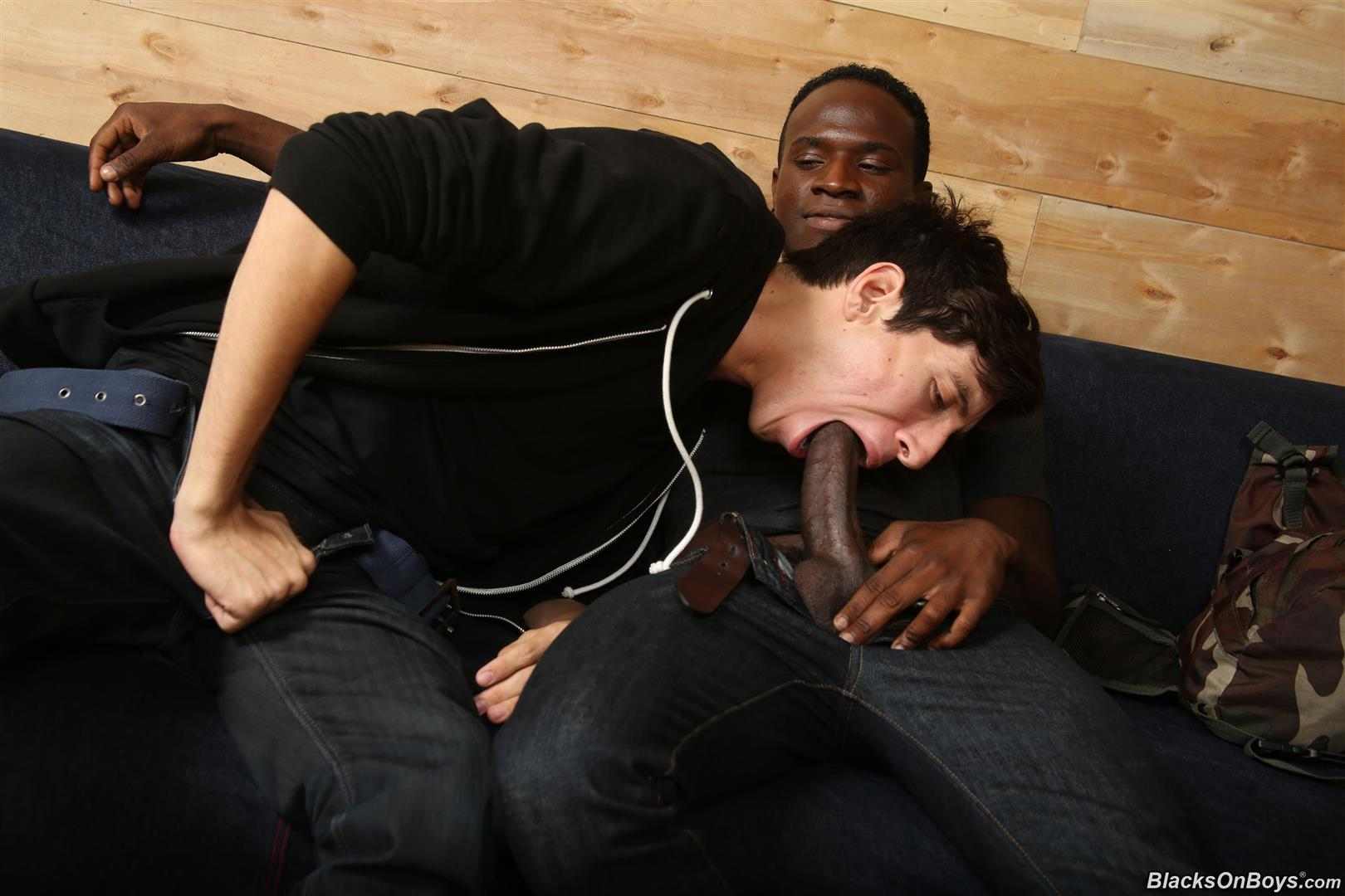Blacks On Boys Billy Eastmore and Tyko Interracial Gay Fucking Amateur Gay Porn 04 Amateur College Dude Takes His First Big Black Cock Up The Ass