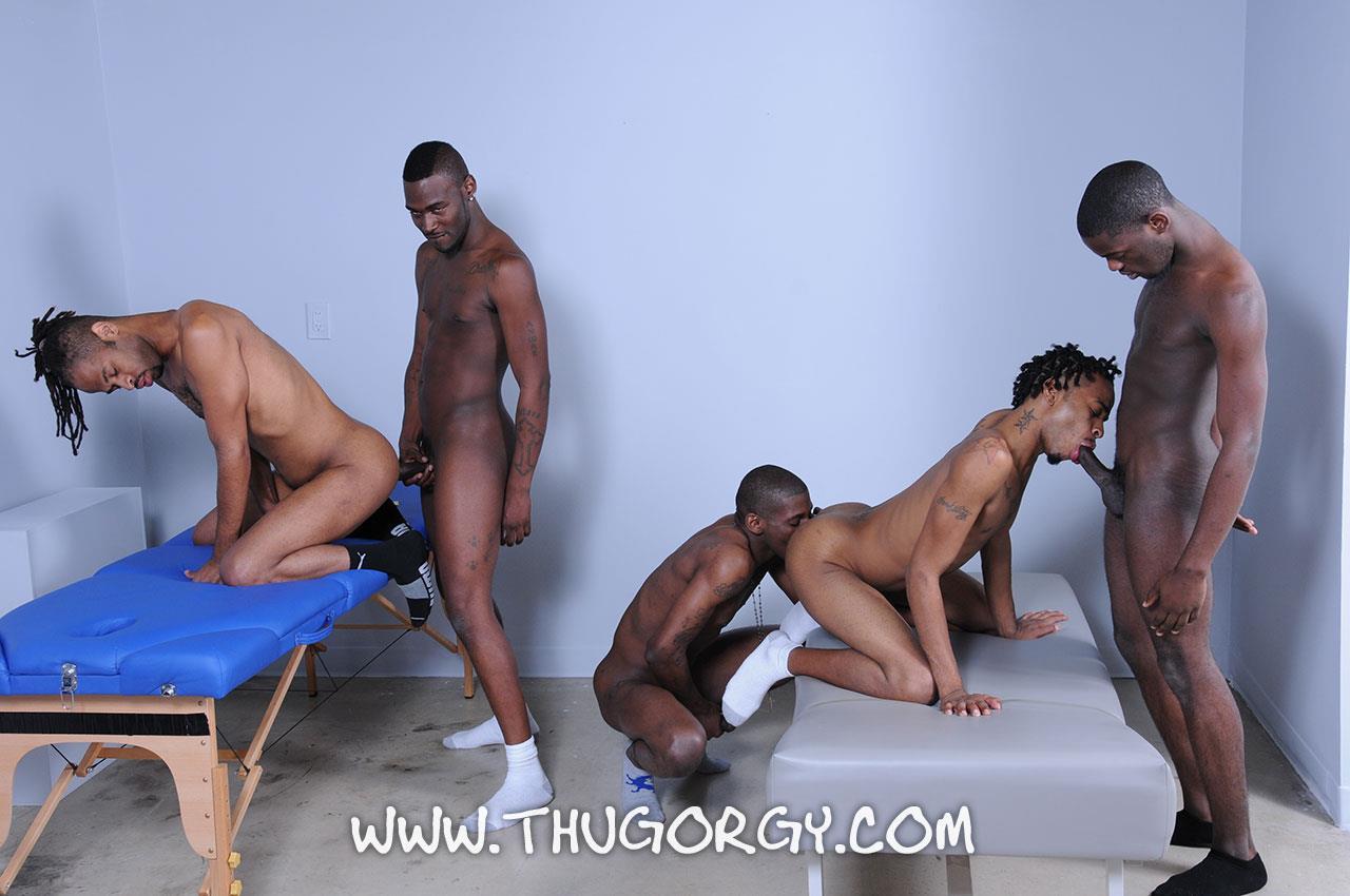 All gay black orgy est