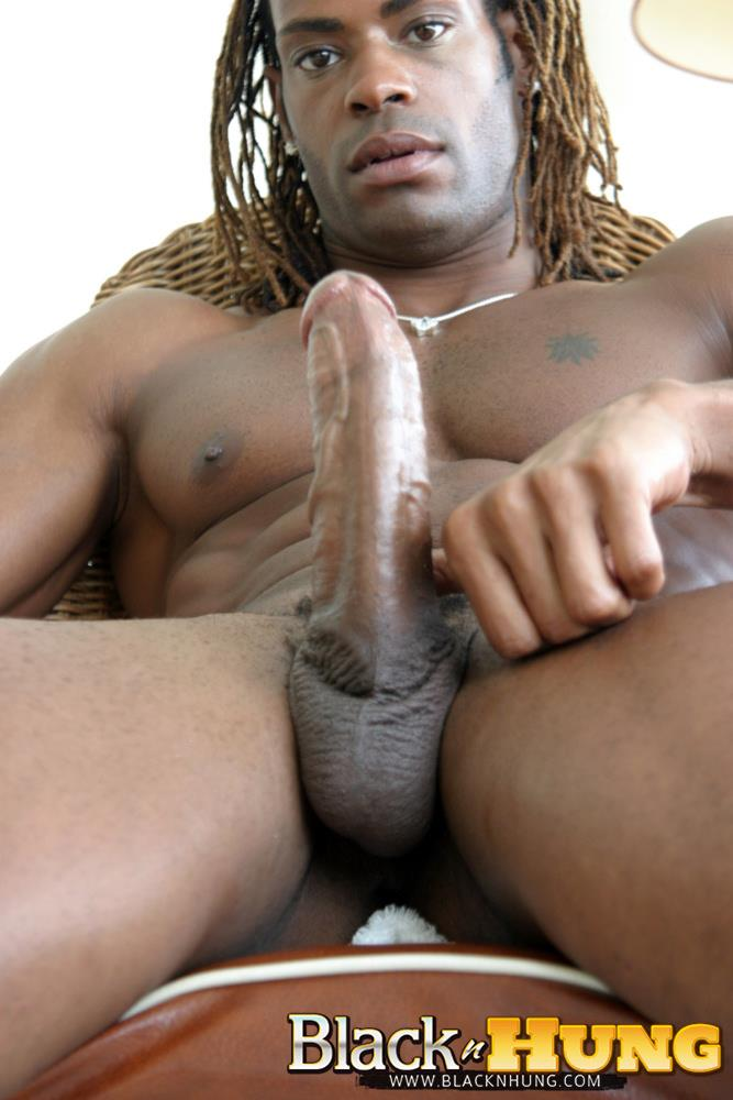 BlacknHung Marlone Starr Hung Black Guy Jerking His Big Black Cock Amateur Gay Porn 15 Amateur Black Muscle Hunk Marlone Starr Jerks His Big Black Cock