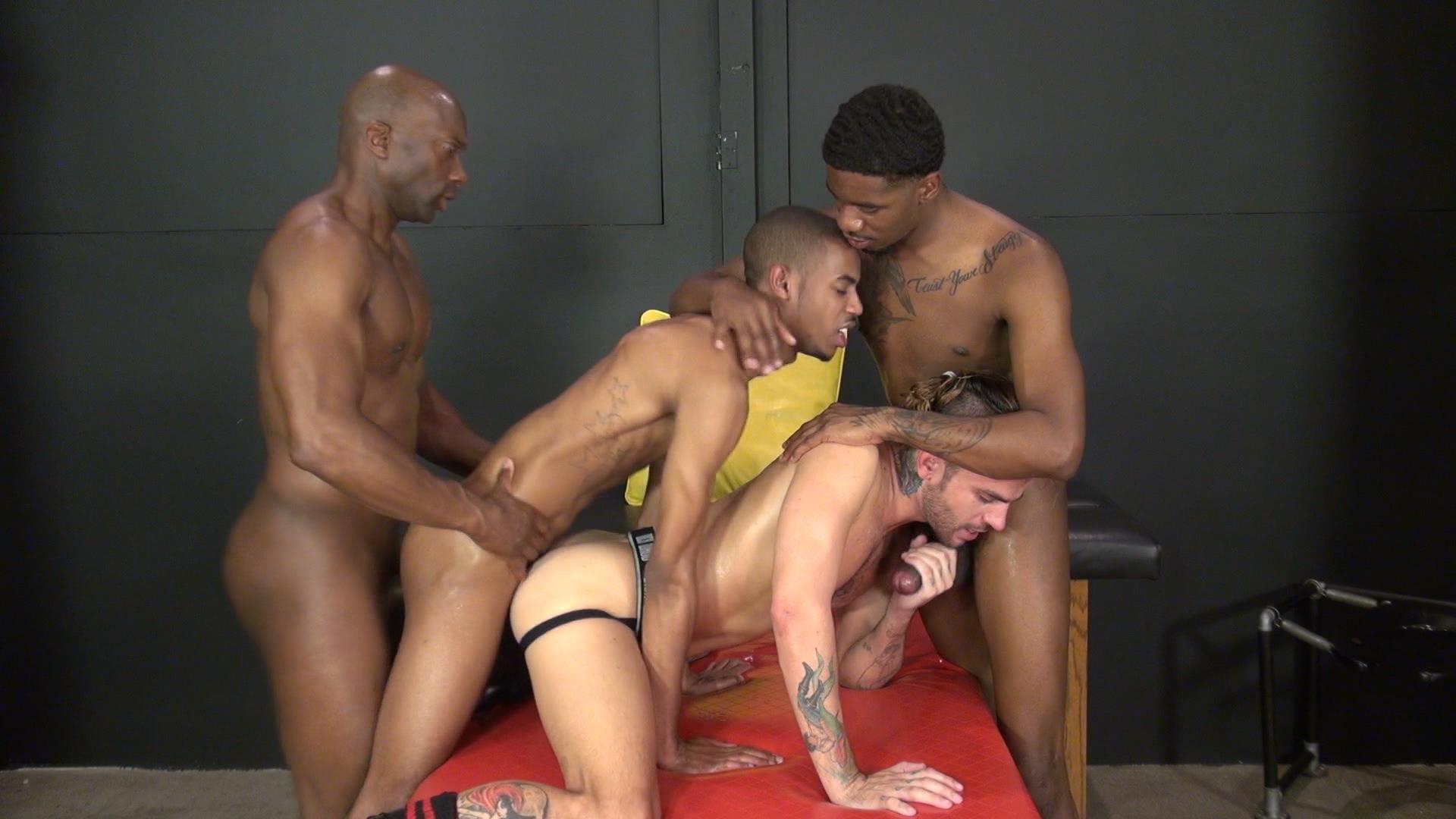 Raw-and-Rough-Champ-Robinson-Lukas-Cipriani-Knockout-Tigger-Redd-BBBH-Amateur-Gay-Porn-10 White Boy Gets A Breeding By Three Big Black Dicks